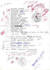 """""""Notițe"""" și listă de contacte - arhivă Dinu Gîndu"""