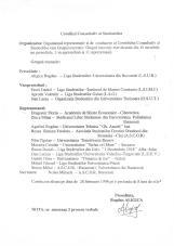 CCS/CNS Birou executiv 1998/03 - Bogdan Aligică, Pavel Daniel, Dan Lazea, Valentin Aprodu - arhivă Dinu Gîndu