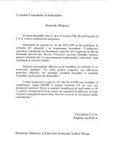 CCS/CNS Birou executiv -
